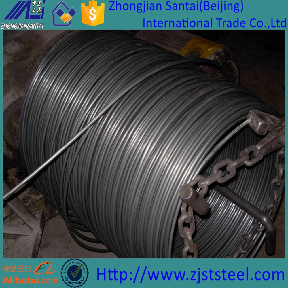 Sae 1008 Low Carbon Steel Wire Rod/iron Bar For Building ...