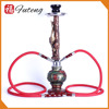 Wholesale Smoke Tobacco 48 cm Medium Shisha Set Glass hookah nargile