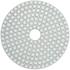 Factory high quality 4inch wet/dry resin marble granite tile stone diamond polishing pads
