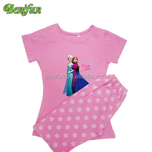 Frozen pajamas elsa and Anna nightgown,Elsa bedgown baby girls christmas pajamas sets