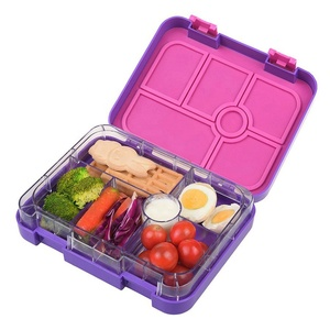 Adults 6 Compartment Leakproof Bento Lunch Box