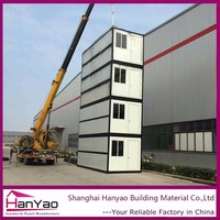 Ce Modular Steel Structure 20Ft Container House With Kiosk Chairs