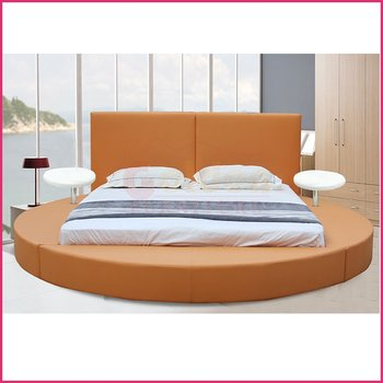 Modern Bedroom Set Furniture Round Bed O6804#