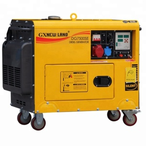 Air-cooled 5KW diesel silent diesel generators