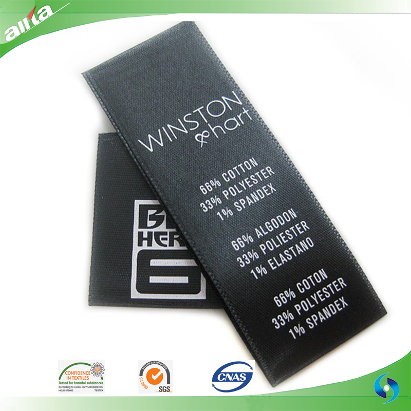 Allta Group Customize Brand Name Logo Woven Cheap Clothing Label ...