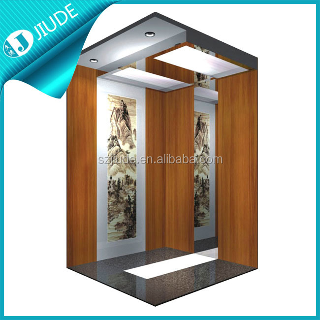 Safety low noise small lift residential elevator prices for Small elevator for home price
