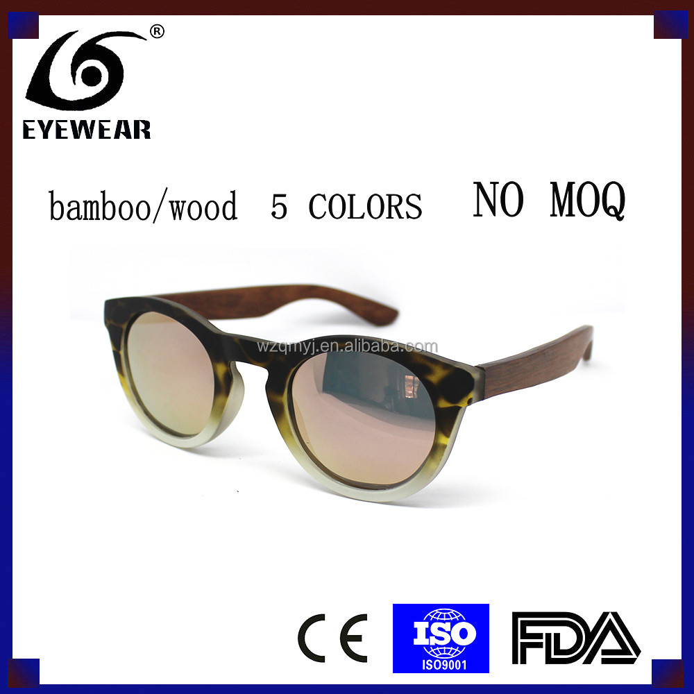 Retail <strong>Bamboo</strong>/wooden sunglasses, NO MOQ. in stock. high quality polarized lens.