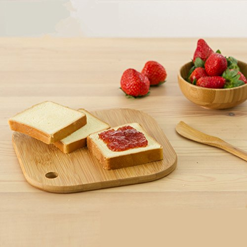 Factory supply small bamboo cutting board handle