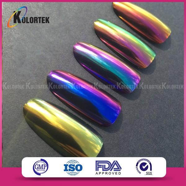 Efecto Camaleón Perla Pigmento Para Uñas,Perla Camaleón Cambio De ...