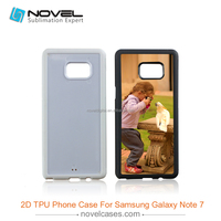 High quality 2D sublimation mobile phone case for Samsung Note7,blank phone cover