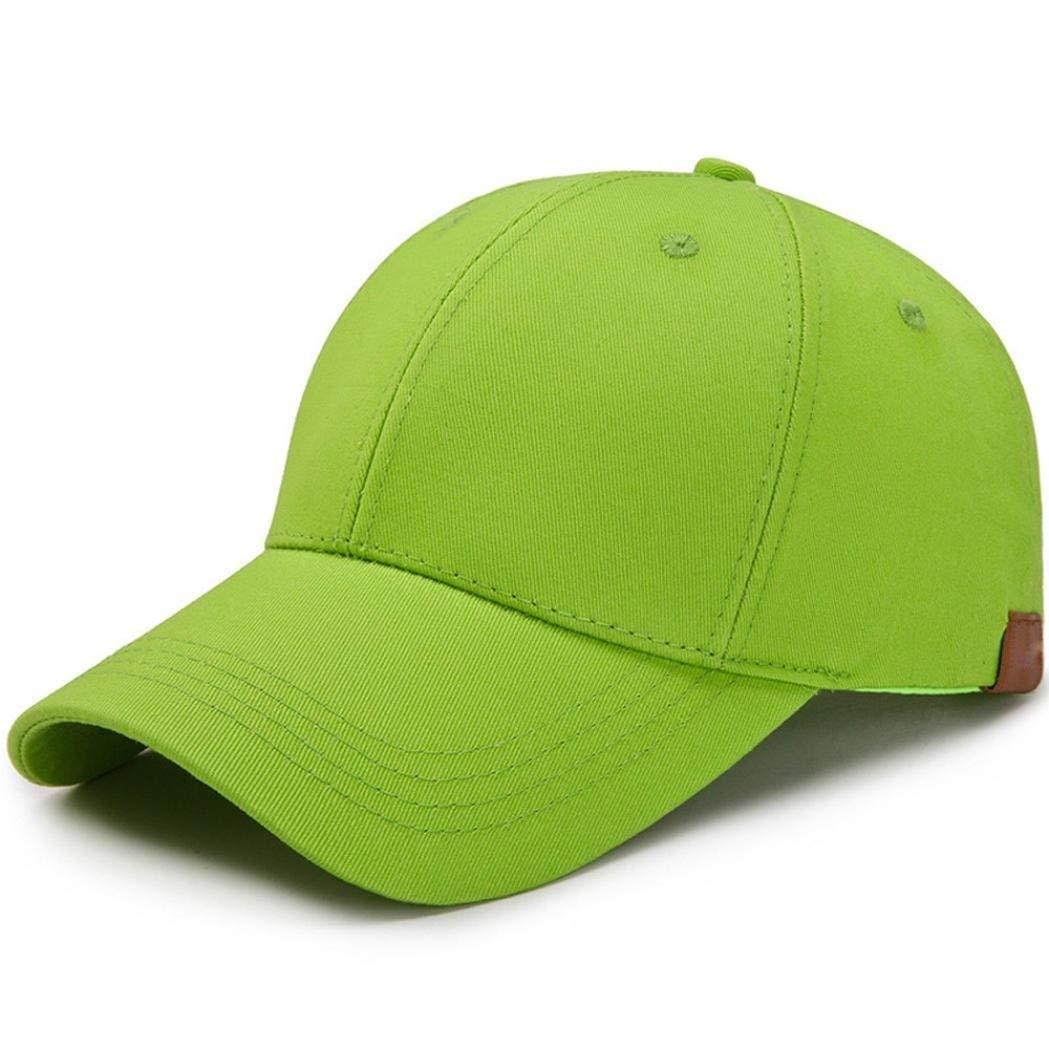 Get Quotations · TiTCool Ponycap Messy High Bun Ponytail Adjustable Plain  Trucker Baseball Cap Hat 0a90bf468dec