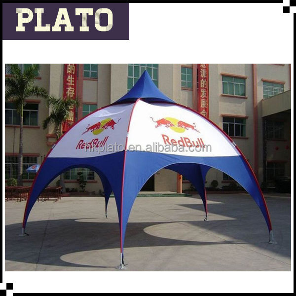 2016 new red bull shade marquee tent circle canopy tent for events