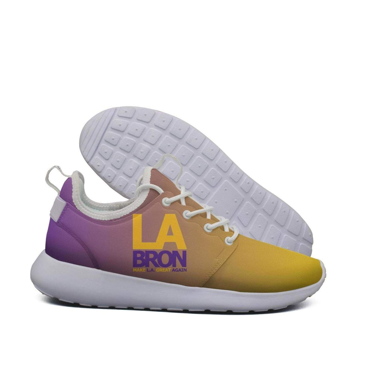 new product 9ddb1 c9a16 Get Quotations · Womens Roshe Two Lightweight La-bron Make LA Great Again  Soft Running Sneakers mesh Shoes