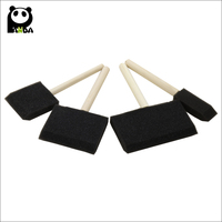 China high quality black foam brush for cleaning and painting