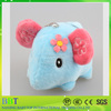 Sweet Multi-Colors 6CM Elephant Keychain DOLL TOY ; Plush Stuffed TOY DOLL BAG Pendant