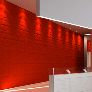 New building decoration material stock fluorescent wallpaper for background wall
