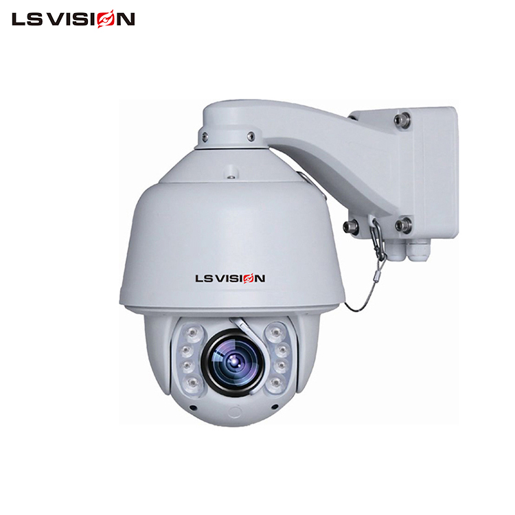 LS VISION 2MP Intelligent IR high speed dome 10pcs lens,IR distance 180meters Auto tracking