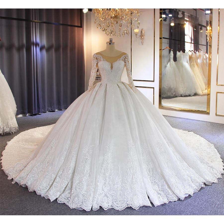Grossiste robe de mariee avec grande traine-