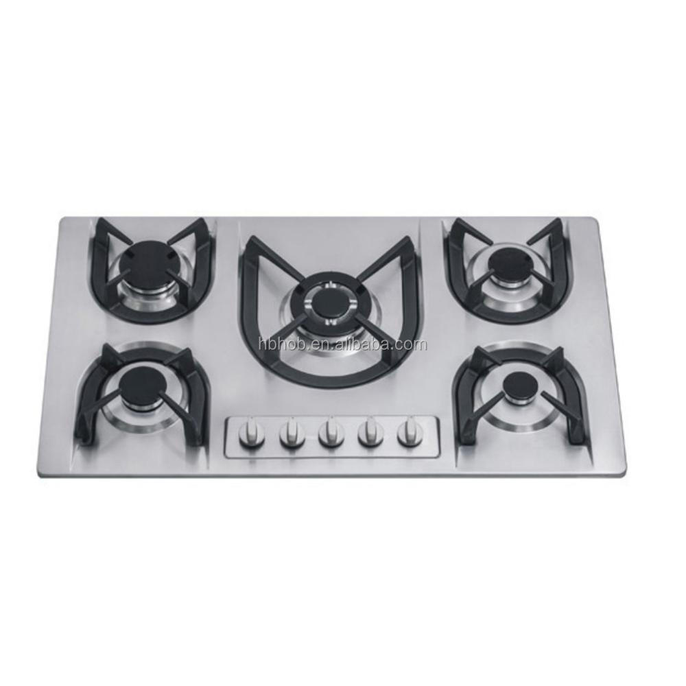 automatic gas stove shut off optional super flame 5 burner gas stoves