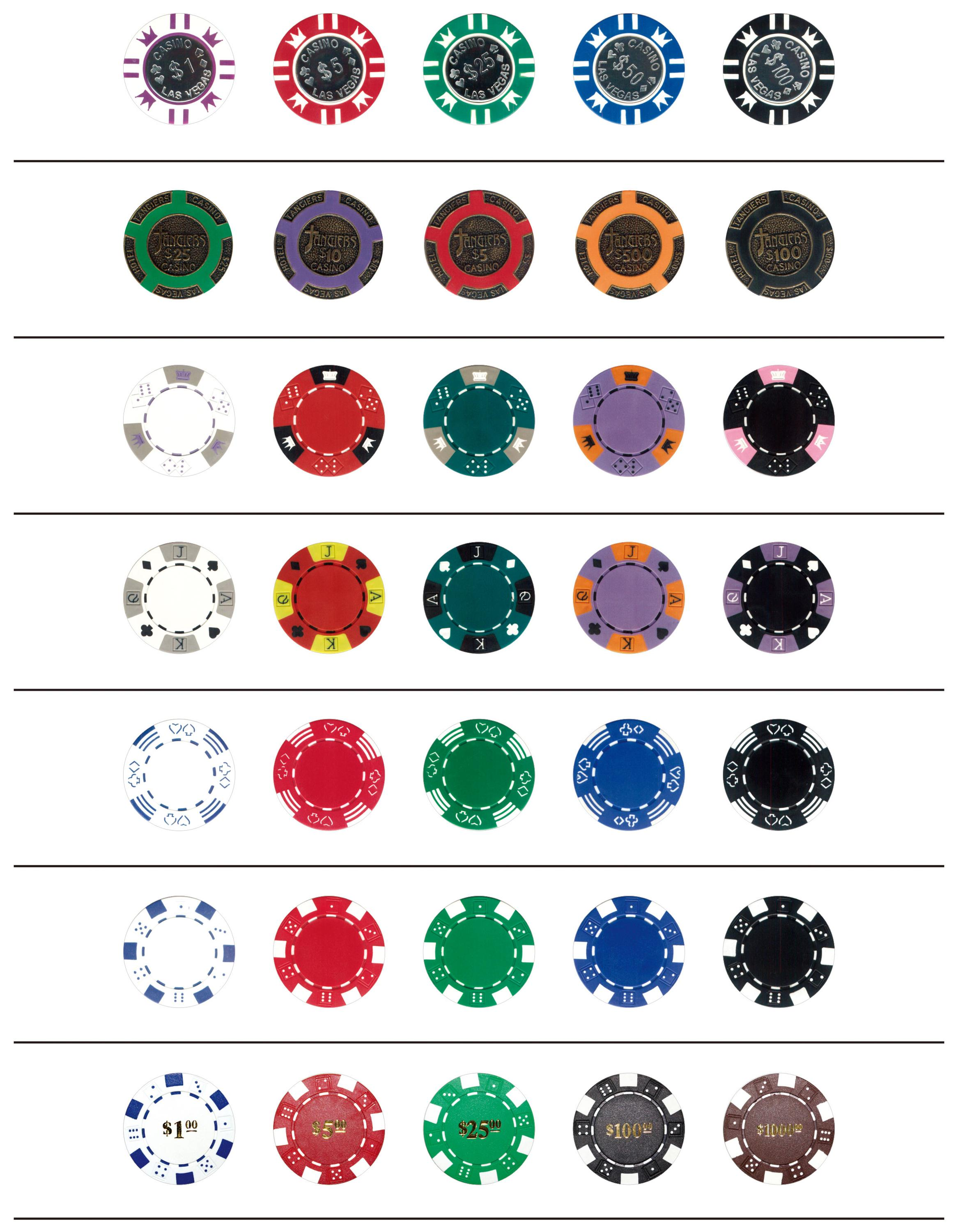 Personalizzata Poker Chips Set