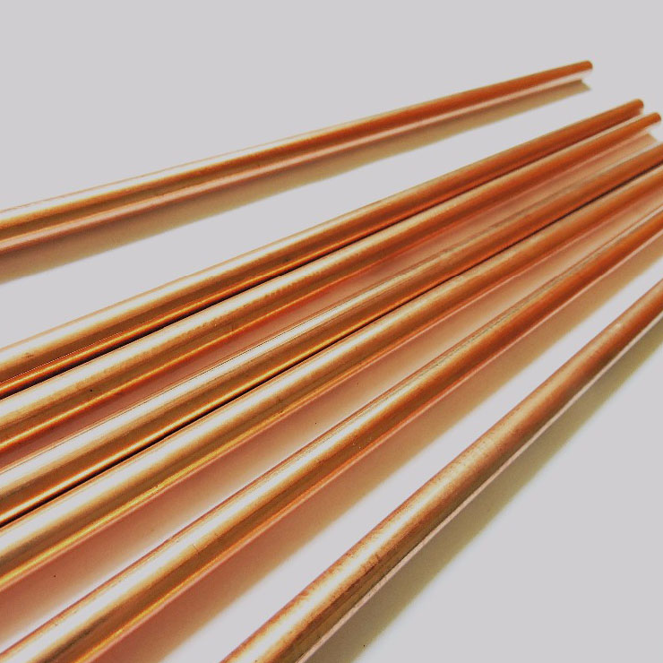 Good quality brake fluid copper tube 6mm extrusion press