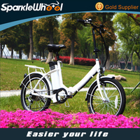 250W 36V 20 Inch Importer Brushless Hub Motor Electric Folding Bicycle