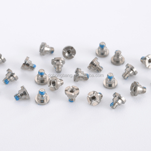Flat Head Rolling Straight Thread Small Screws For Toys