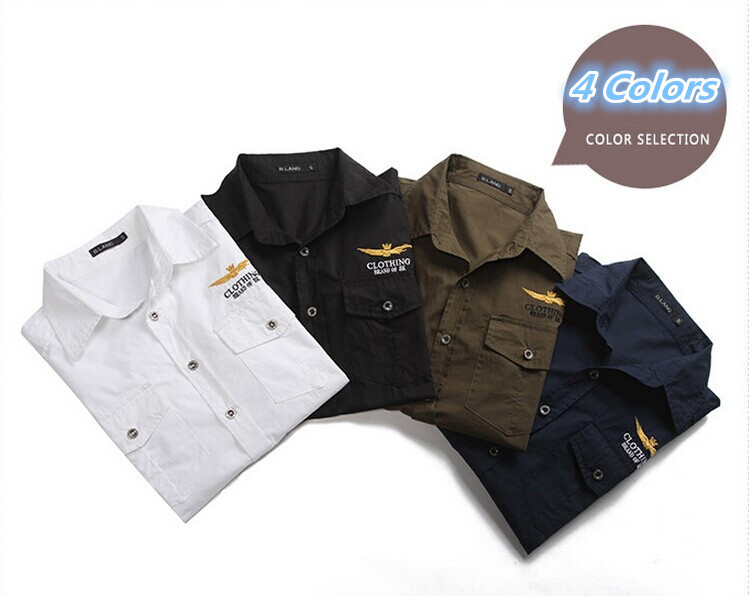 64d9c0ac1 Get Quotations · Men'S Military Shirt Short Sleeve Casual Shirt Mens Army  Camisa Masculina Hombre Social Vestidos Chemise Homme