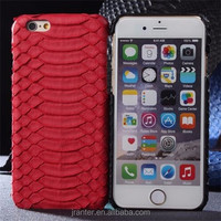 Luxurious Customize 100% Snake Leather Mobile Phone Case Cover for iPhone 6 plus