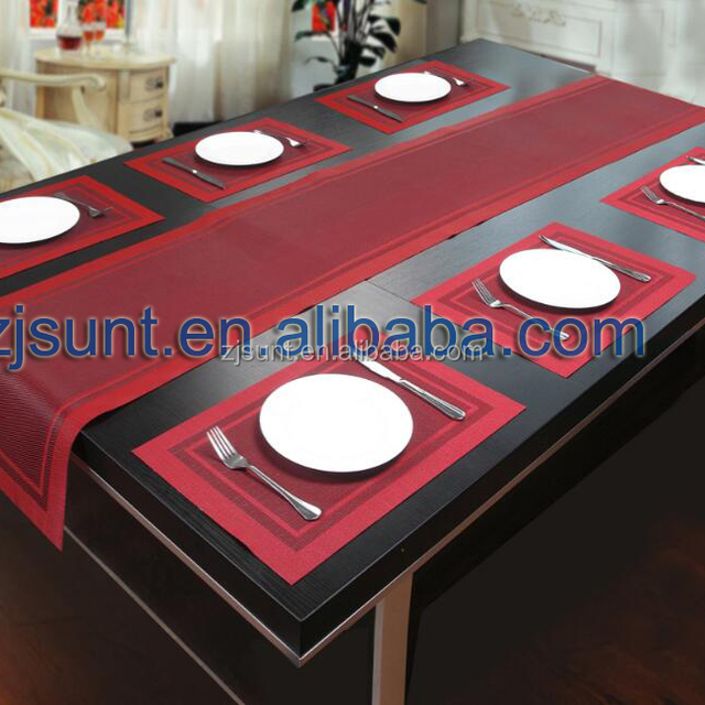 woven pvc table runner placemat set & Buy Cheap China table runner placemats set Products Find China ...