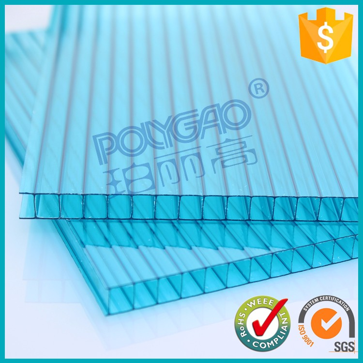 polycarbonate hollow pc sheet waterproof bathroom wall panels