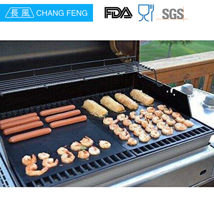 Non-stick heat resistant oven safe bbq grill mat oven liner