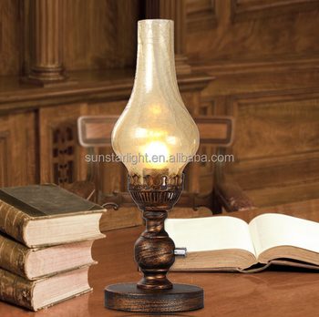 Vintage Kerosene Design Table Lamp