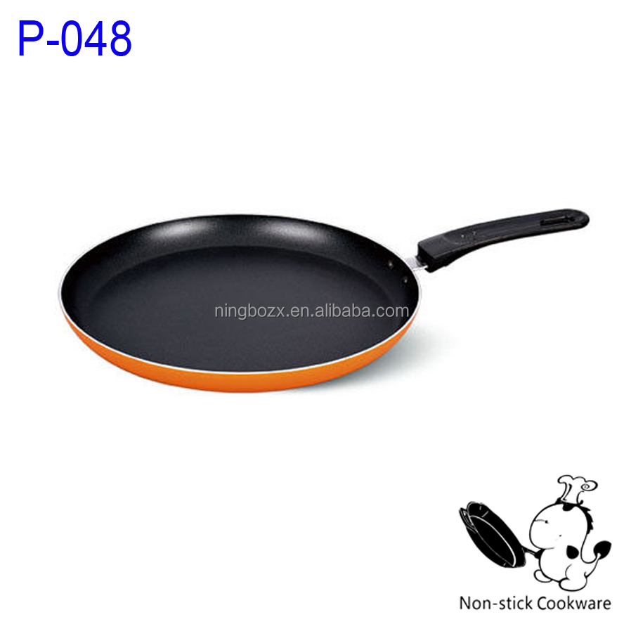 non-stick crepes pan very useful pizza pan with inducton bottom