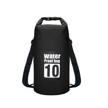 5L/10L/15L/20L Водонепроницаемый сухой мешок сумка для хранения сумка для плавания Каякинг каноэ Рыбалка двойные ремни(Китай)
