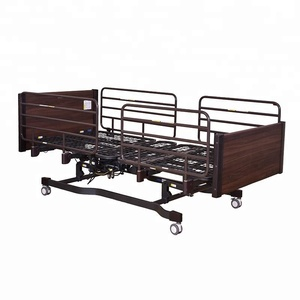 A-30 Three-function Electric Hospital Bed with Wooden Bed Head and Foot Board