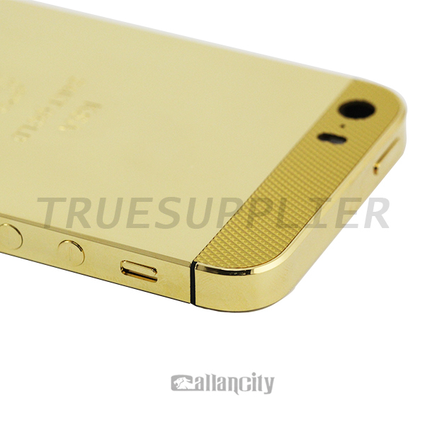 apple iphone 5s gold. gold plated for iphone 5s price,for apple back cover replacement (limited