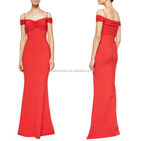 2014 wholesale halter latest design ladies long mermaid evening gown