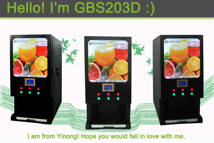 Plain Commercial Coffee Vending Machines Yinong Drinks Beverage Milk Tea Juice Throughout Ideas