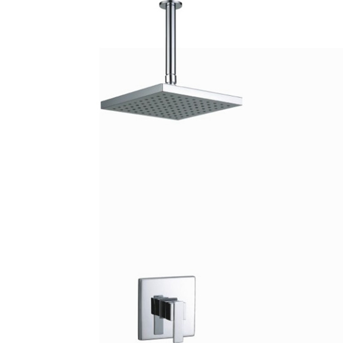 Factory Price! Inwall Surface Mounted Raining Shower Faucet Without  Diverter Bath U0026 Shower Faucets Hot