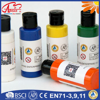 Wholesale nontoxic 60ml phoenix acrylic paints for for Acrylic paint in bulk
