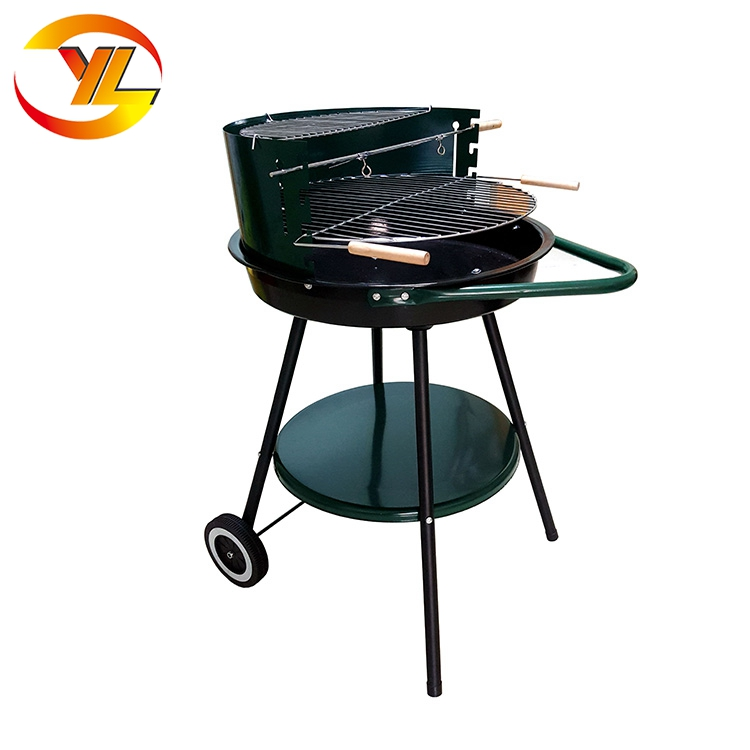 Enamel fire bowl outdoor portable charcoal grill barbecues for sale