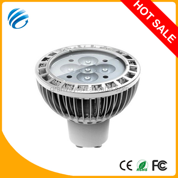 Warranty 3 years dimmable 5w High Quality & New Design CREE clear and milky spot lighting High quality glass MR16 5*1W LED spot