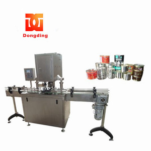 wholesale high quality continuous automatic aluminum can Seaming equipment /PET can sealing machine /can seamer