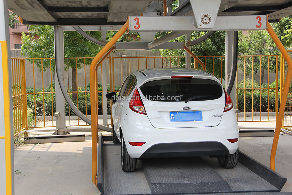 Automated Space Saving Car Parking System Vertical Rotary