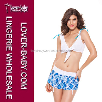75dc4382a Sexy Underwear Students Role-Playing Game Schoolgirl Halloween Costumes    Cosplay L1051