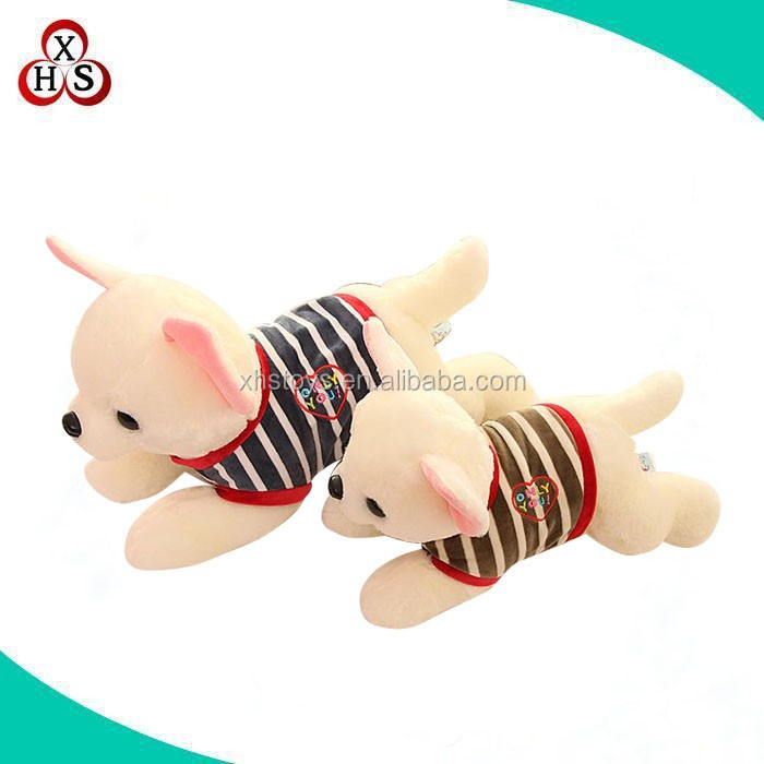 wholesale OEM/ODM customized cute plush dog made in china