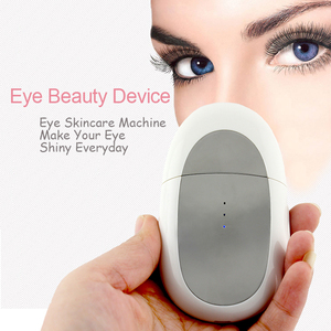 Skin Care Beauty Device Eye Bag Wrinkle Removal Micro Current Ion Facial Massager Portable Beauty Machine Galvanic Eye Care Tool
