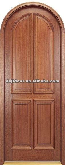 Redonda De Madera Casa Top Diseño Puertas Interior Dj-s3750mr - Buy ...