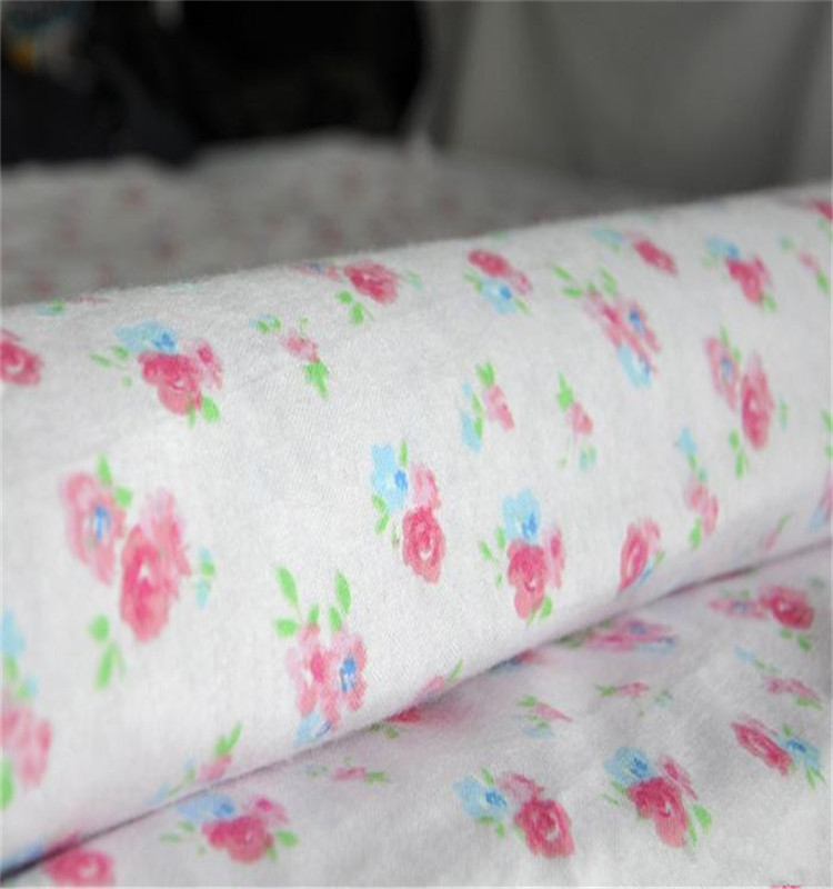 Factory wholesale high quality pigment printed cotton for Wholesale baby fabric